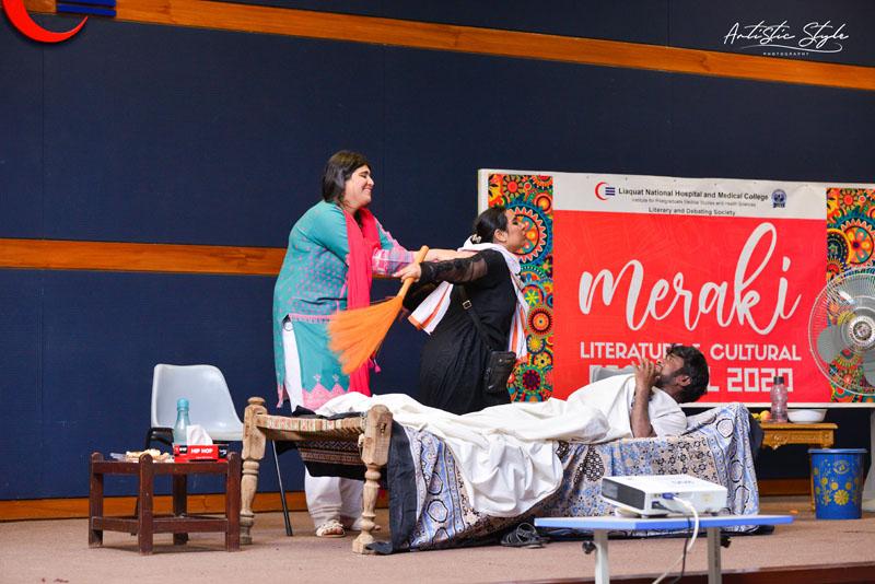 Meraki a Festival of Storytelling , Poetry and Drama at LNMC